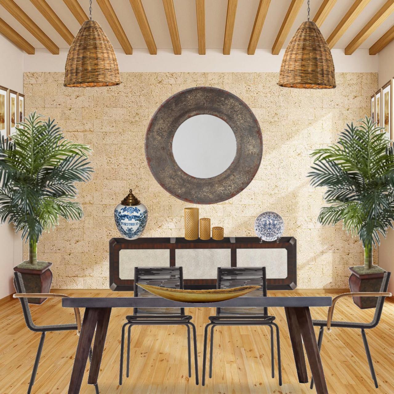 Tendencias de decoración 2019: mejorando el área del comedor
