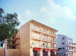 Casa Balcones, renders. ©Conservatorio, S.A